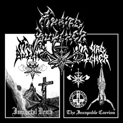 Maniac Butcher 'Immortal Death / The Incapable Carrion'